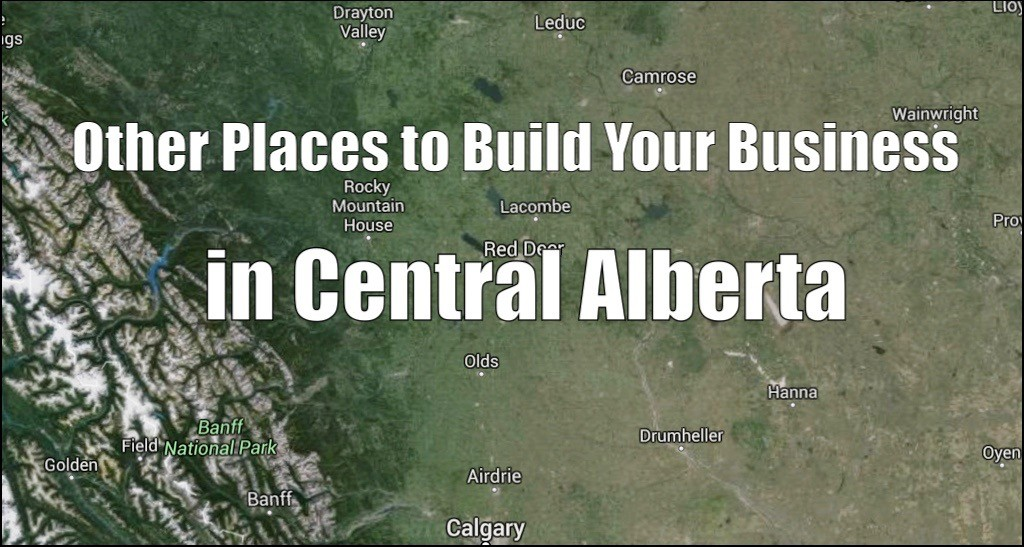 Central Alberta Towns and Commercial Construction