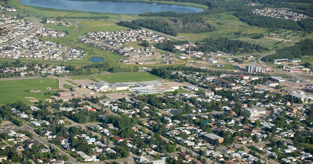 Central Alberta Towns Innisfail Construction