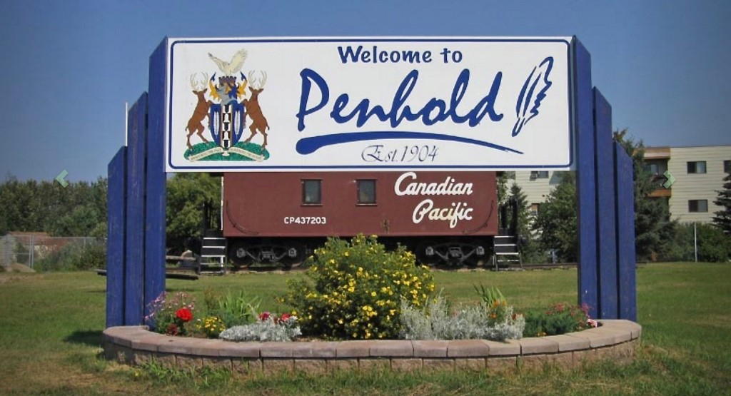 Central Alberta Towns Penhold Construction
