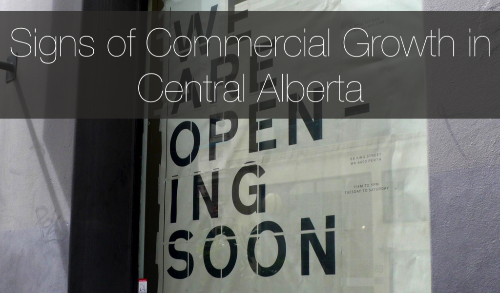Central Alberta Commercial Construction Growth 2018
